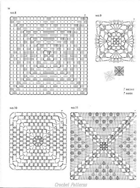 crochet square pattern diagram 1000 images about crochet patterns diagrams on
