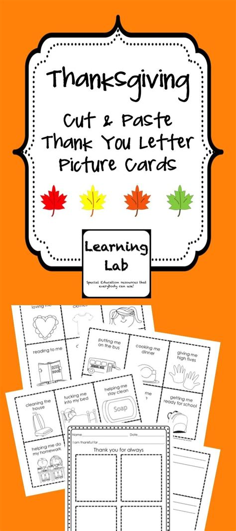 thank you letter to special ed 1000 images about classroom theme thanksgiving on