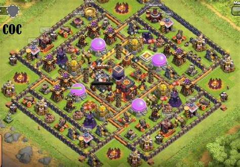 coc th10 farming base layout best farming base layout for town hall 10 th inside coc