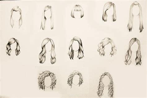 desenho cabelo gennia news desenhos de cabelos