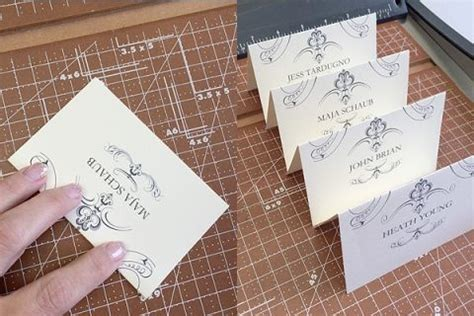 printable wedding reception templates card table