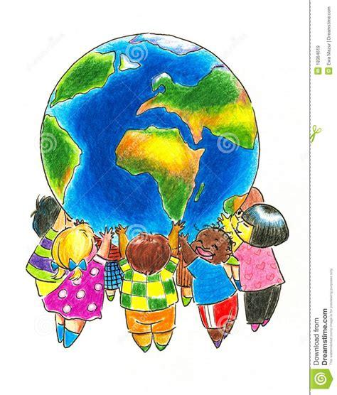 immagini clipart bambini bambini e terra illustrazione di stock illustrazione di
