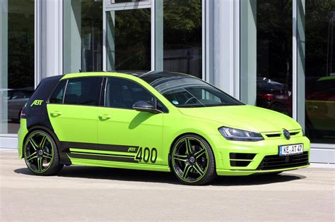 volkswagen green abt reveals lime green 400hp volkswagen golf r gtspirit