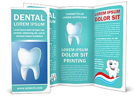 dental brochure templates dental concept brochure template design id 0000002297