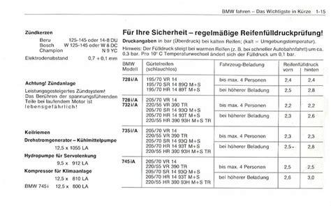 Bmw 1er F20 Bedienungsanleitung Pdf by Technische Daten Bmw E23
