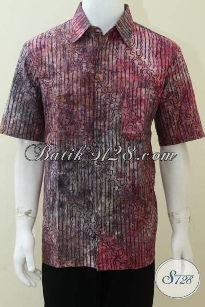 Kemeja Batik Dewasa Kemeja Batik Kantoran 31 batik pria dewasa keren warna gradasi cocok untuk kerja