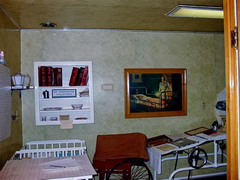 county history room dundy county history museum hospital room dundy county h flickr photo