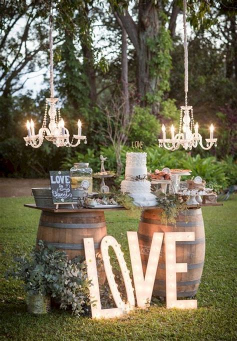 Summer Outdoor Wedding Decorations Ideas 131 ? OOSILE