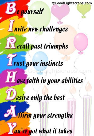 Words To Wish A Happy Birthday 48 Best Birthday Wishes Quotes Images On Pinterest