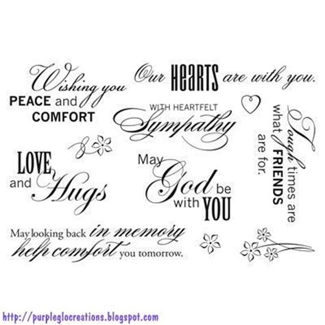 comforting words of sympathy ctmh words of comfort c1524 visit http