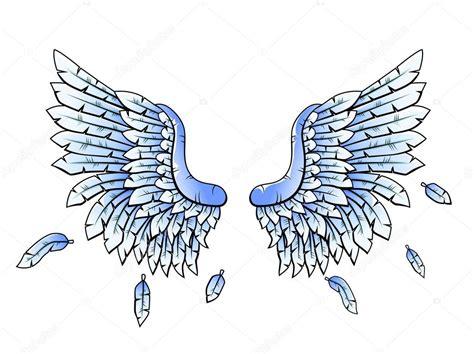 imagenes vectoriales alas azul her 225 ldicas alas dibujos animados archivo im 225 genes