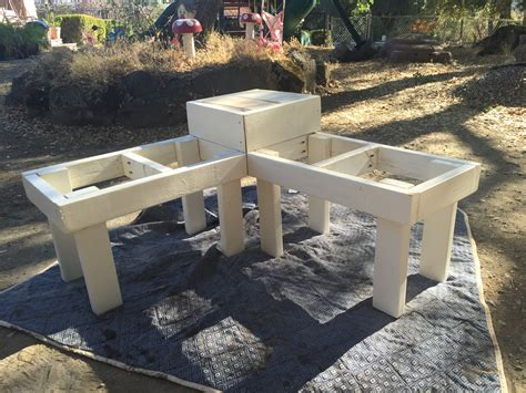 how to build a table bench remodelaholic build a corner bench with built in table