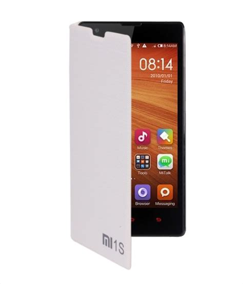 Flip Cover Xiaomi Redmi 1s Xiaomi 1s Redmi 1s koloredge flip cover for xiaomi redmi 1s white flip covers at low prices snapdeal india