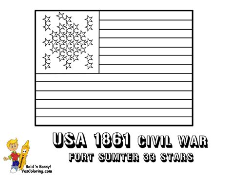 Union Flag Coloring Page free coloring pages of flag of united states