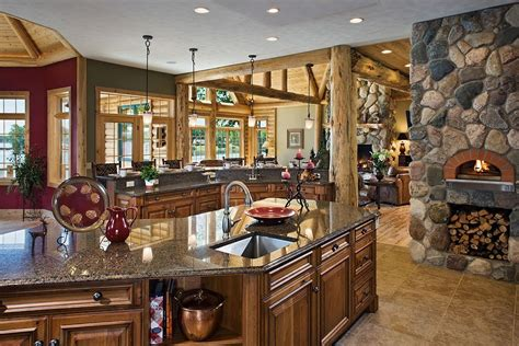 Beautiful Rustic Kitchens On Pinterest Rustic Dining Room Tables Country Kitchen Designs And | share