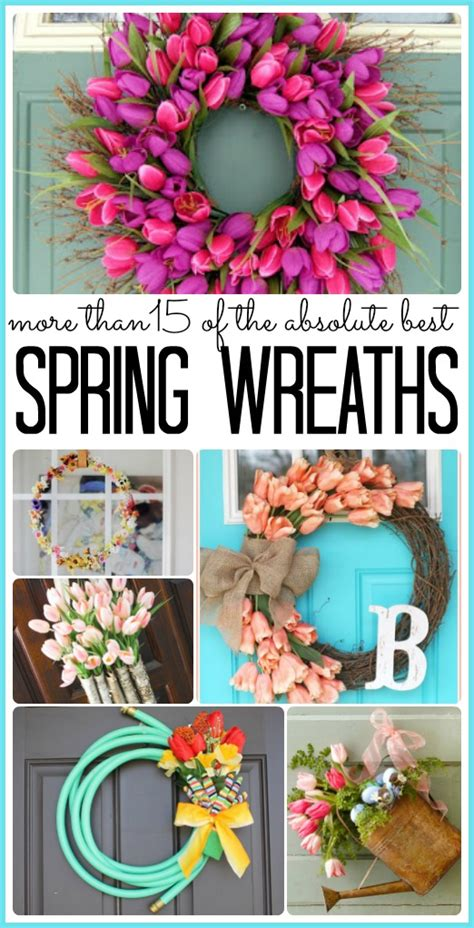 spring wreaths 2017 spring wreath ideas sugar bee crafts