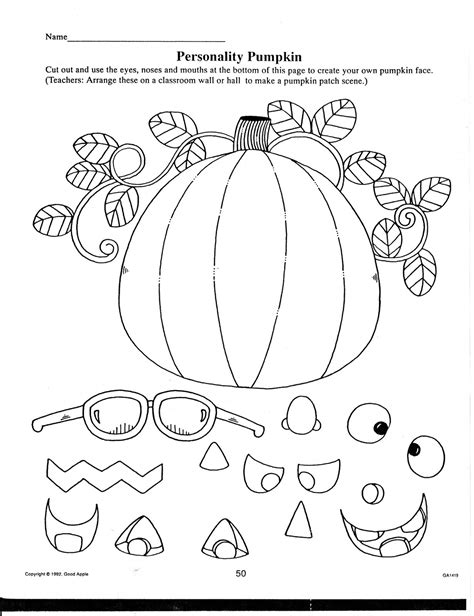 printable preschool fall activities teacher s market halloween fall printables for your