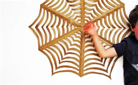 Origami Spider Web - decorating ideas diy origami spider webs homecrux