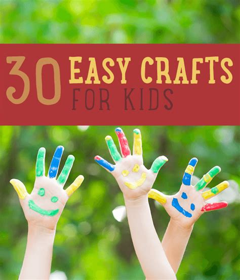 really easy crafts crafts 30 easy craft projects for diy ready