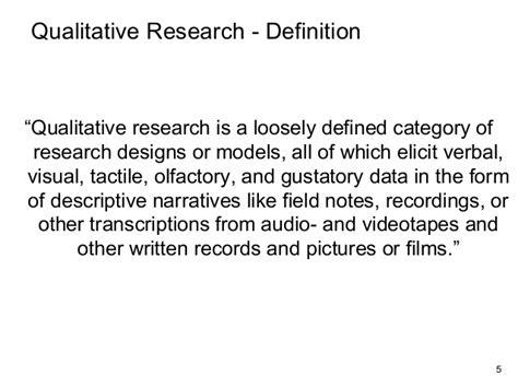 qualitative design definition qualitative research designs