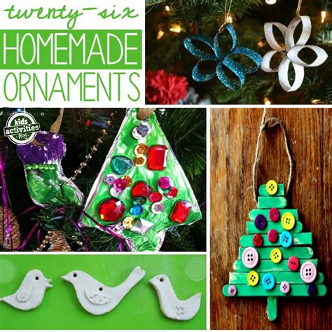 tree decorations children can make 26 ornaments