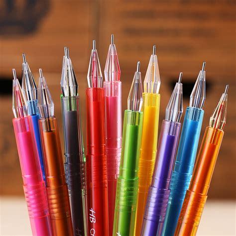 colored gel pens 12pcs color gel pen draw colored paintting pens