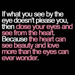 I See Said The Blind Man Poem True Love Quotes And Sayings For Him