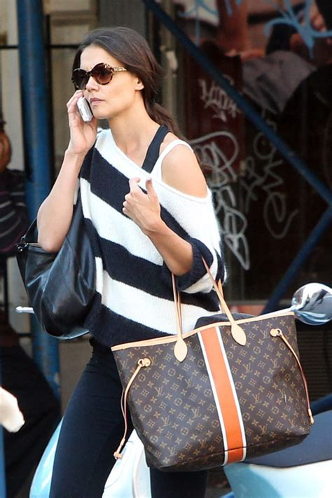 Name Holmess Purse by Carries Louis Vuitton Around Nyc Purseblog