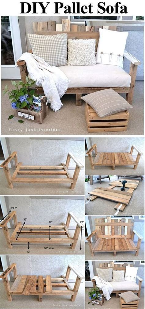 sofa pallet diy 29 diy outdoor furniture projects to beautify your outdoor