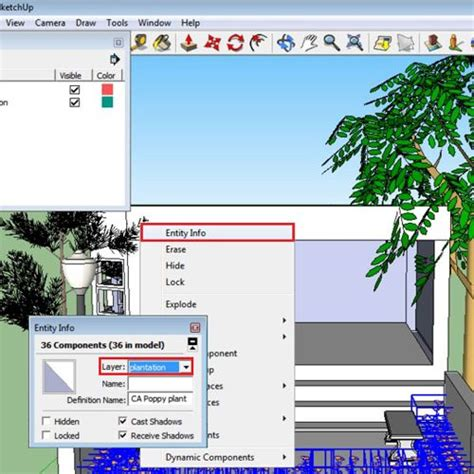 google sketchup 8 tutorial layers how to work with layers in google sketchup howtech