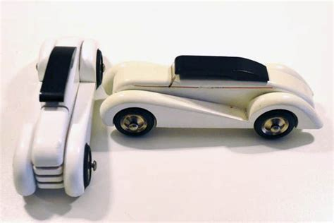 vilac two wooden deco style cars catawiki