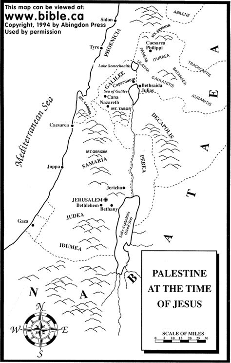 map of new testament jerusalem map of palestine