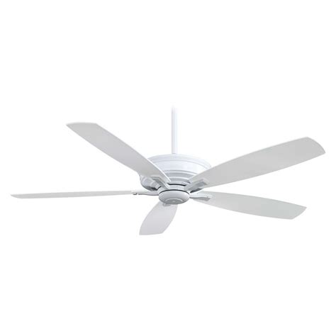 White Ceiling Fan Without Light Ceiling Fan Without Light In White Finish F696 Wh Destination Lighting