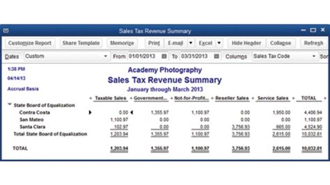 What Reports From Quickbooks Are Needed For Taxes by How To Manage Sales Tax In Quickbooks 2013 Cpa Practice Advisor