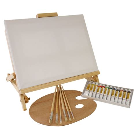 Painting Supplies by Us Supply 21 Painting Set With Table Easel