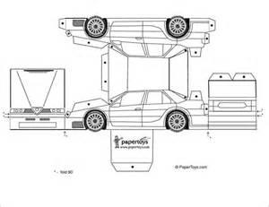 Paper Car Template by 11 Best Paper Car Templates Designs Free Premium