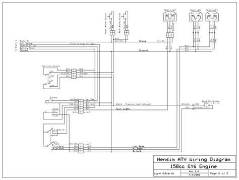 tao atv engine diagram trailer to battery wiring diagram
