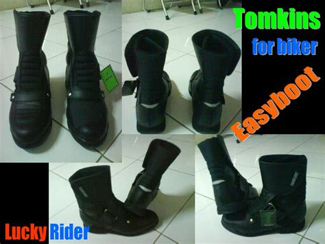 Sepatu Tomkins Easy Boot sepatu biker tomkins lucky rider