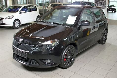skoda black magic skoda fabia rs blackmagic perl