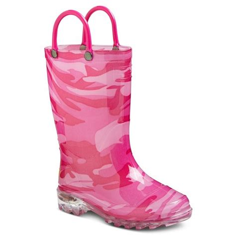 toddler light up western chief camo boots