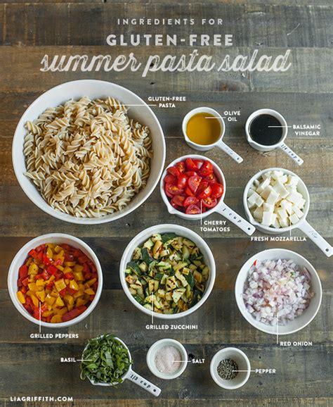pasta salad ingredients gluten free summer pasta salad