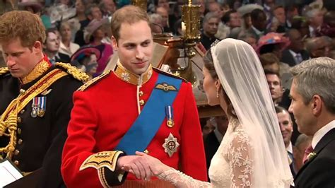 Kate and William's vows   YouTube