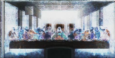 file color inverted image of the last supper by da vinici jpg