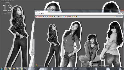 google chrome themes kpop snsd snsd google theme