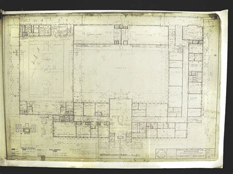 playboy mansion floor plan new mexico state prison old main blueprints