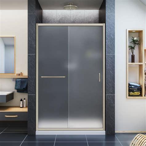 Dreamline Infinity Z 36 In X 48 In X 74 75 In Framed Acrylic Shower Door
