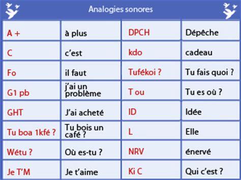 language ms francophiles le langage sms pour ou contre