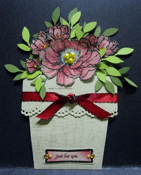 Where Can I Use A Shell Gift Card - barb n shell creations flower pot cards 3 of 3