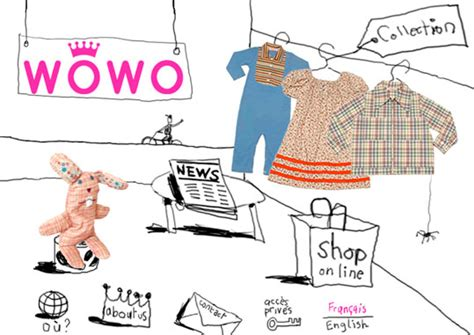 Wowo Clothes by Jeanne Verdoux Graphic Design Wowo