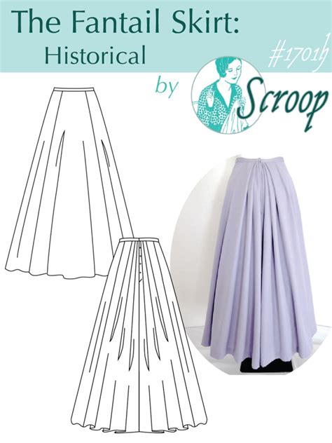 historical pattern review pattern review scroop fantail historical skirt